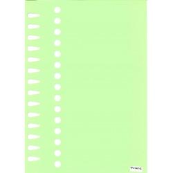 Etiquettes à boucle vert...