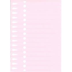 Etiquettes à boucle rose...