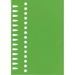 Etiquettes à boucle vert 14...